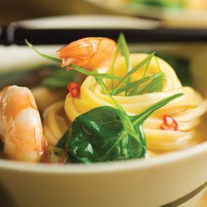 Teriyaki Shrimp Hot Pot