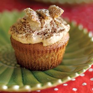 Coffee Whipped Cream Butterfly Cupcakes