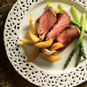Leg of Lamb with Mango and Orange Yogurt Marinade