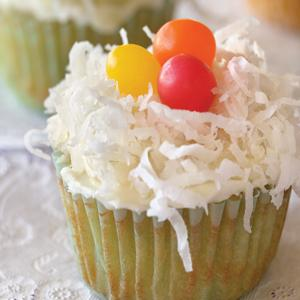 Lime Scented Coconut Nests