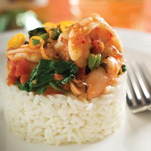 Spicy Shrimp Medley