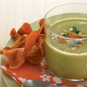 Curried Zucchini Buttermilk Soup