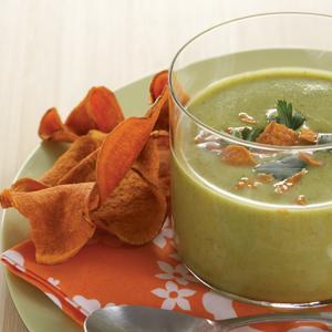 Curried Zucchini Buttermilk Soup