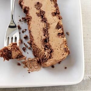 Chocolate Biscotti Semifreddo