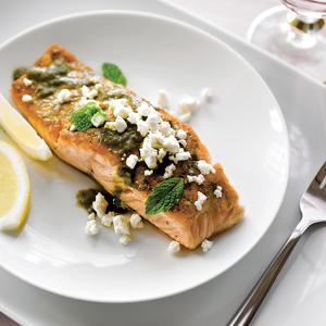 Parsley Lemon Salmon