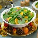 Baby Spinach and Orange Salad
