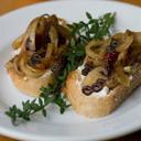 Caramelized Onion Bruschetta