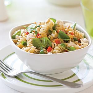 Spring Greens Pasta Salad