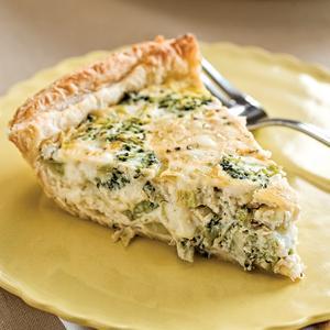 Broccoli Tofu Quiche