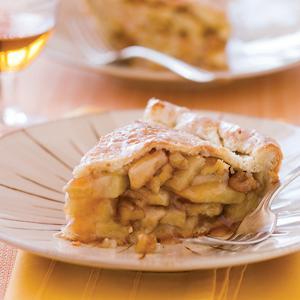 Captain Lindsey House Deep-Dish Apple Walnut Pie