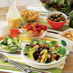 Simple Salad Bar