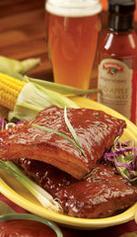 Kansas City Style Barbeque Pork Ribs