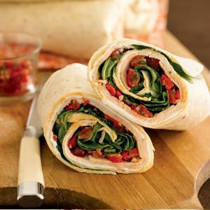 Terrific Turkey Wraps