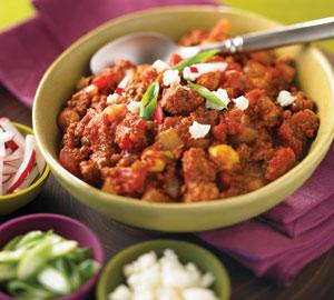 Beef and Chorinzo Chili