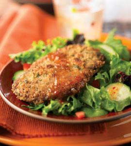 Steak Milanese Salad