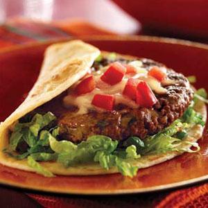 Fiesta Burgers Con Queso