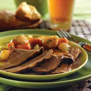 Irish-Inspired Beef Pot Roast and Vegetables