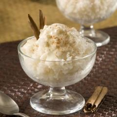 Mexican Rice Pudding with Cinnamon and Almonds