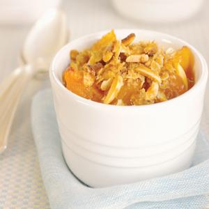 Almond Apricot Crisp