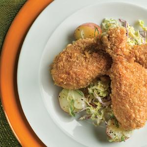 Oven Fried Buttermilk Ranch Drumsticks