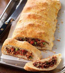 Italian Beef & Cheese Calzone