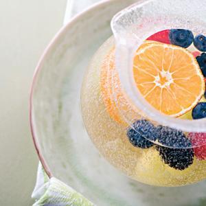 Freezer Fruit-Punch Sparkler