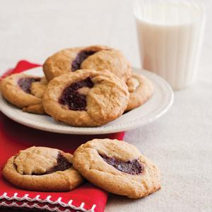 Dana's Raspberry-Filled Cookies