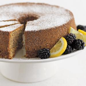 Lemon Poppy Seed Torte
