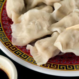 Triple Ginger Beef Dumplings
