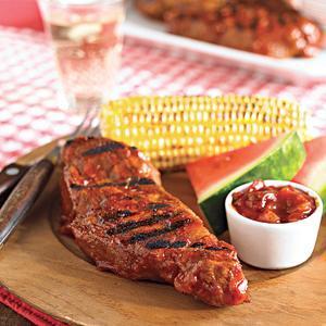 Fiery Southern-Style Pork Ribs