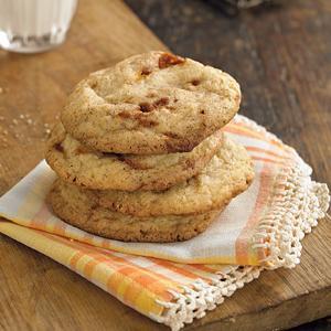 Caramel Crunch Snickerdoodles
