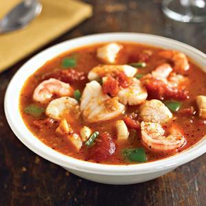 Garlicky Seafood Cioppino