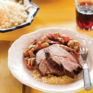 Moroccan Roasted Lamb and Vegetables