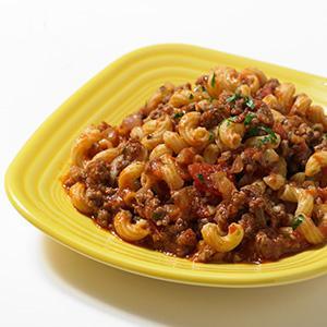 American Chop Suey Skillet Supper
