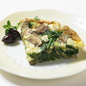 Spinach and Feta Frittata