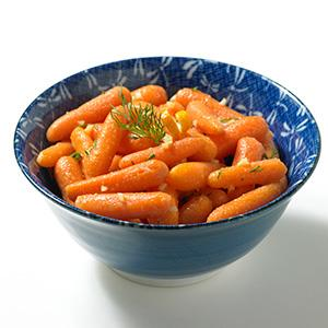 Honey Ginger Orange Carrots