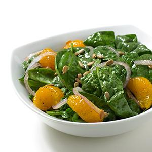 Asian Mandarin Spinach Salad