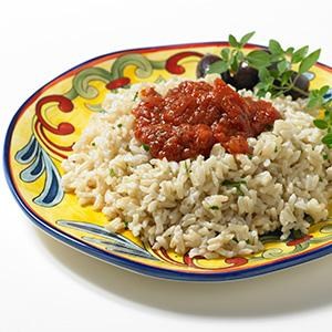 Saucy Brown Rice