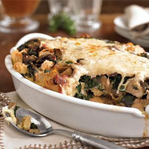 Country Breakfast Strata