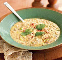 Armenian Yogurt-Barley Soup