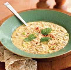 Armenian Yogurt-Barley Soup