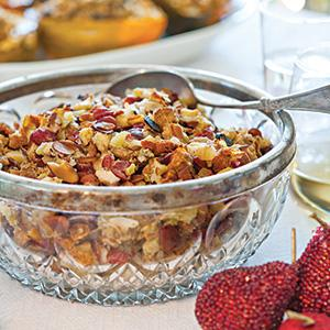 Apple Almond Stuffing