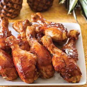 Oven-Roasted Huli Huli Chicken Drumsticks