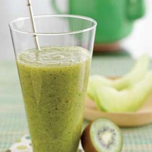 Green Tea Honeydew Smoothie