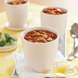 Mary's Quite Contrary Roasted Red Pepper Soup