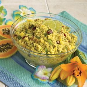 Pineapple Couscous Salad