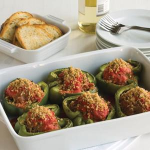 Microwave Stuffed Peppers