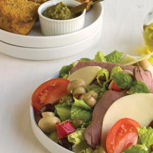 Meal Ideas Roast Beef Antipasto Salad