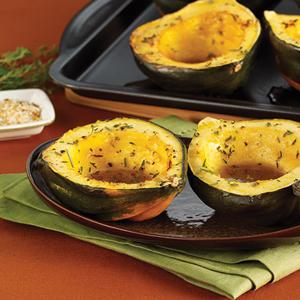 Maple-Roasted Acorn Squash