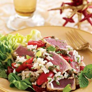 Chilled Insalata of Tuna and Herbed Rice